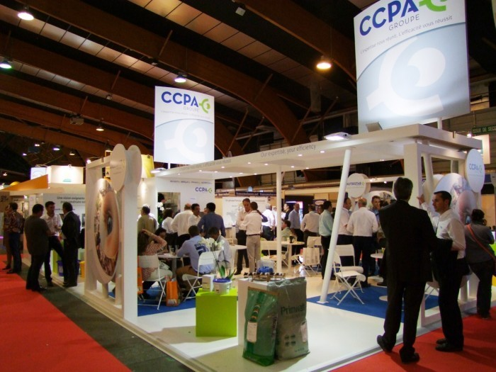 Stand du GROUPE CCPA au SPACE 2014